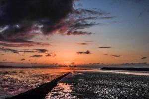 Sonnenuntergang Nordstrandischmoor