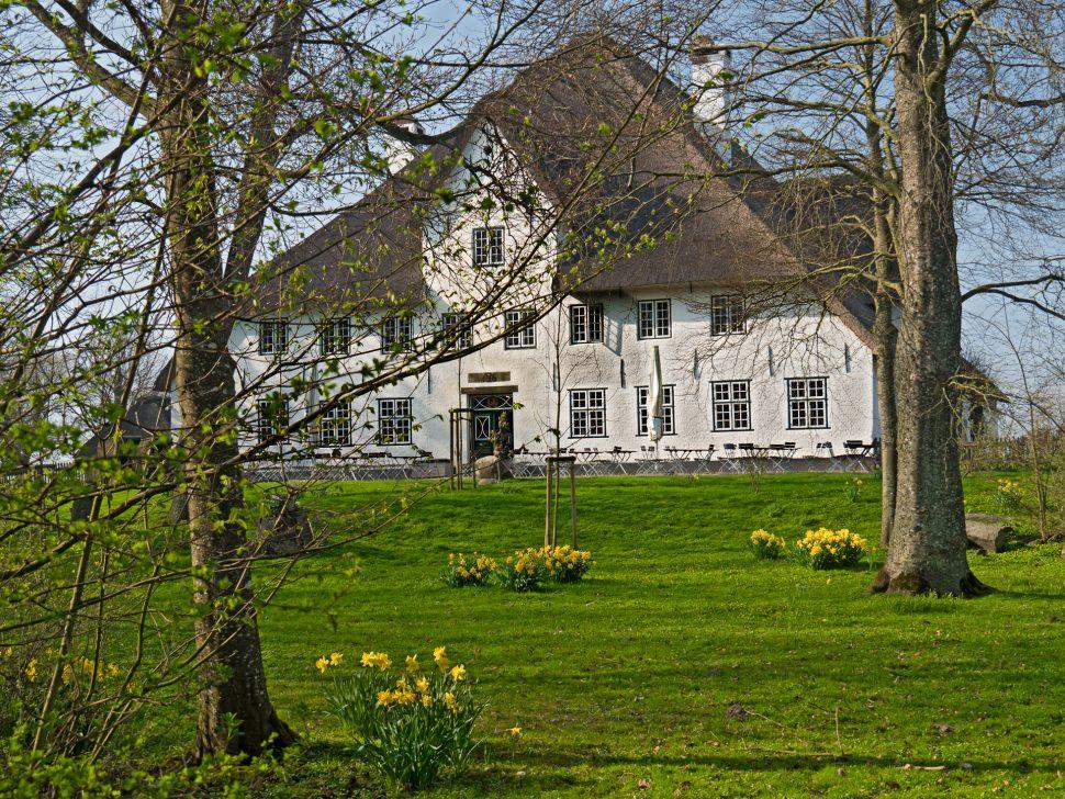 Roter Haubarg, Historische Gaststätte bei Husum